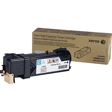 Xerox Phaser 6128MFP Cyan Toner Cartridge (106R01452)