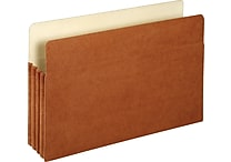 Staples 3 1/2' Expansion File Pockets, Legal, 25/Pack