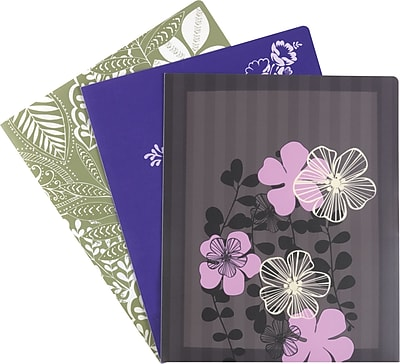 Staples Sophisticate Pocket Folders