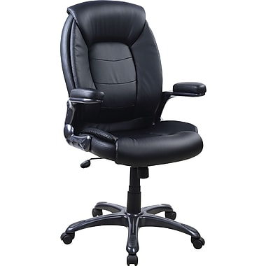 TechniMobili Techni-Flex Executive High-Back Chair, Black