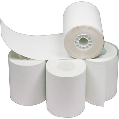Staples® Thermal Paper Roll, 3-1/8