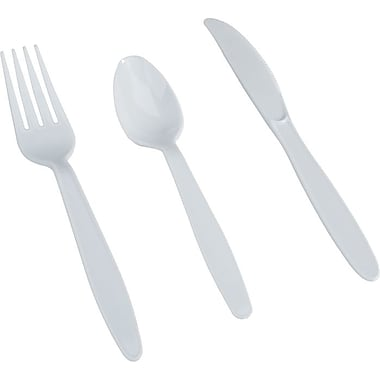 Dixie® Heavy-Medium Weight Plastic Cutlery