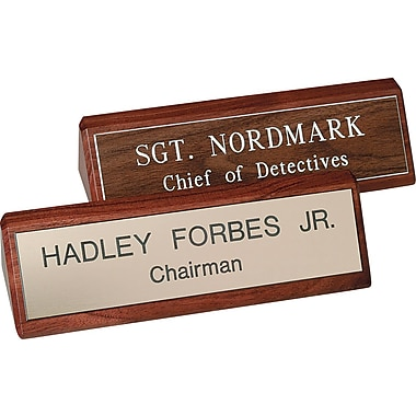 Custom Desk Signs