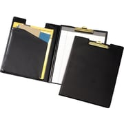 "Cardinal® Business Basics Vinyl Clip Padholder, Black, 9 1/2"" x 12 1/2"""