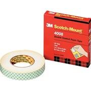 "3M™ Double Coated Urethane Foam Tape, 1"" x 4 yd., Off-White"
