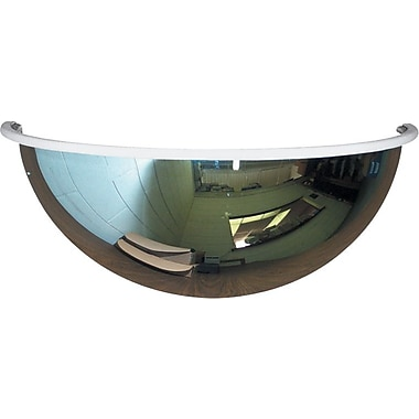 Half-Dome Convex Mirror 18in., For Areas up to 150 sq. ft.