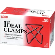 ACCO #2 Ideal Clamps, Small, 50/box (72620)