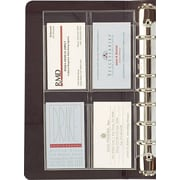 Day-Timer® Business Card Holders, Desk Size