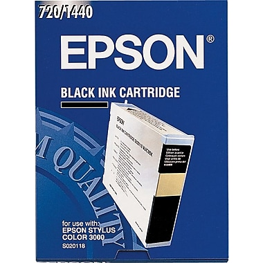 Epson® S020118 Black Ink Cartridge