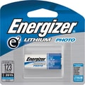 Energizer e² Lithium Photo Battery, 123, 3V, Each