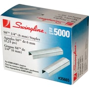 """Swingline® S8™ Staples, 1/4"""" Leg Length, 5,000/Bx"""