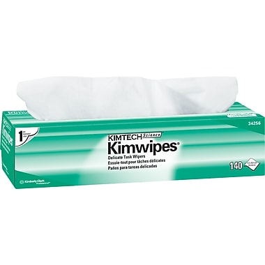 Kimtech Science® Kimwipes Delicate Task Wipers, 140/Box