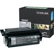 Lexmark™ 1382925 Black Return Program Toner Cartridge, High-Yield
