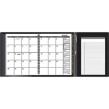 "2014 AT-A-GLANCE® Plus Monthly Planner, 6 7/8"" x 8 3/4"""