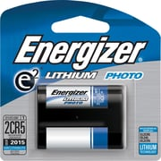 Energizer® e² Lithium Photo Battery, 2CR5, 6Volt, Each