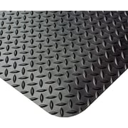 "Crown Anti-Fatigue Floor Mat, Black, 36"" x 60"""