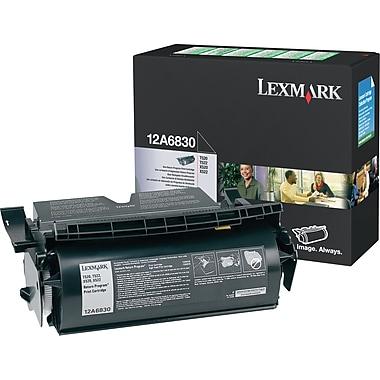 Lexmark™ – Cartouche de toner noire, 12A6830