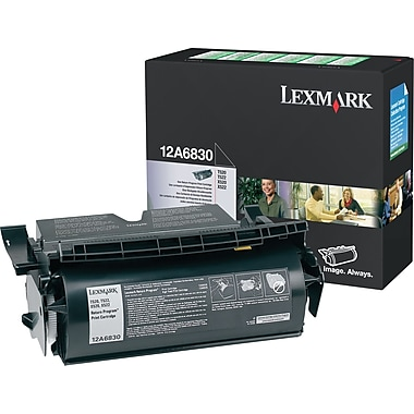 Lexmark™ 12A6830 Black Toner Cartridge