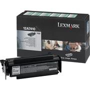 Lexmark™ – Cartouche de toner noire, 12A7410