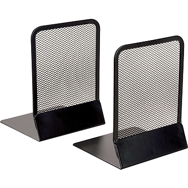 Staples® Black Wire Mesh  Bookends