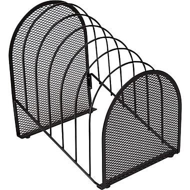 Staples® Black Wire Mesh Incline Sorter