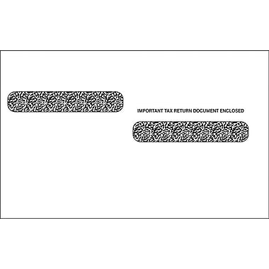TOPS Gummed Double Window Envelope for LW24UPALT Tax Form, 24 lb., White, 5 5/8in. x 9in., 100/Pack