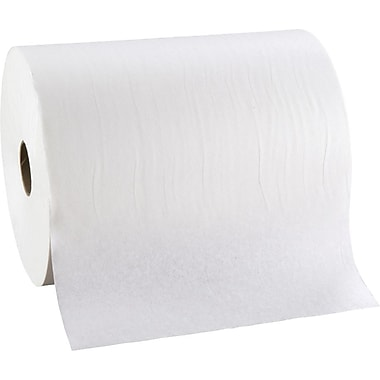 enMotion High Capacity Hardwound Paper Towel Rolls, 1-Ply, White, 6 Rolls/Case