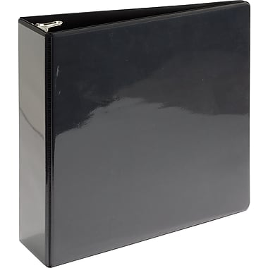 Simply™ View Binder with Round Rings, Black