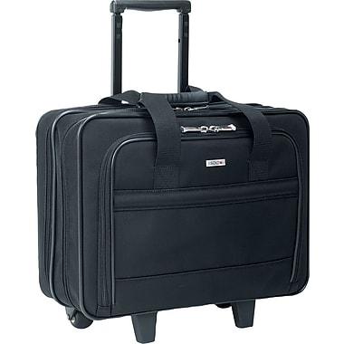 U.S. Luggage™ Wheeled Laptop Computer Case, Ballistic Nylon, Black ...