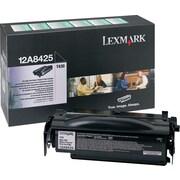 Lexmark™ – Cartouche de toner noir, programme de retour, haut rendement, 12A8425