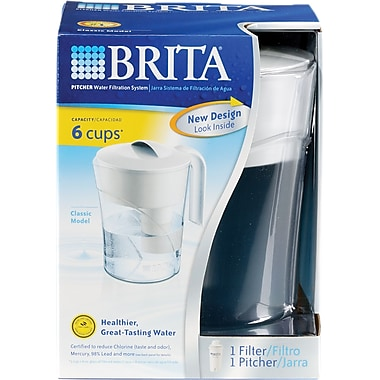 Brita Pitcher Filtration Systems and Filters