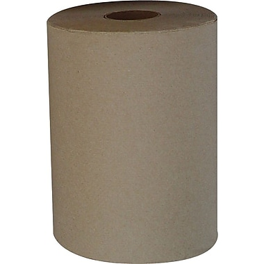 Heavenly Soft® Hardwound Paper Towel Rolls, Natural, 1-Ply, 6 Rolls/Case