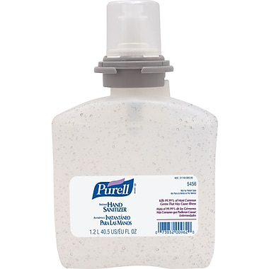 Purell® TFX™ Instant Hand Sanitizer, Gel, Refill, 1,200 ml.