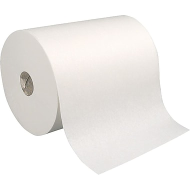 enMotion High Capacity 100% Recycled Hardwound Paper Towel Rolls, White, 1-Ply, 6 Rolls/Case