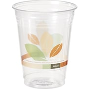 SOLO® Bare® Eco-Forward Recycled Content (RPET) Clear Plastic Cold Cups, 12 oz., 50/Pack