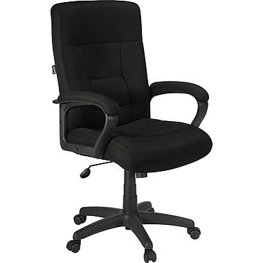 Staples® Ventana™ Mesh Executive High-Back Chair, Black