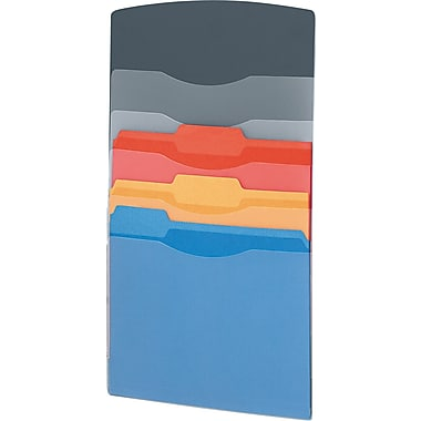 Fellowes Partition Additions Cubicle File Pockets, Multicolor, Each (FEL7502301)