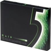 Wrigley's™ 5 Sugar-Free Gum, Rain®, 10 Packs/Box