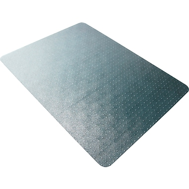 Mammoth Office Products Standard Pile Carpet Chair Mat, 60in. L x 46in. W