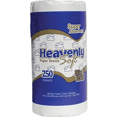 Heavenly Soft® Jumbo  Paper Towel Rolls, 2-Ply, 12 Rolls/Case