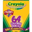 Crayola® Short Colored Pencil Set, 64/Pack