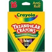 Crayola® Triangle Crayons, 16/Box