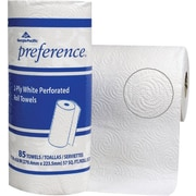 Preference®, 2 Ply, Perforated Roll Paper Towel, White, 85 Sheets/Roll, 15 Rolls/Case, (27315)
