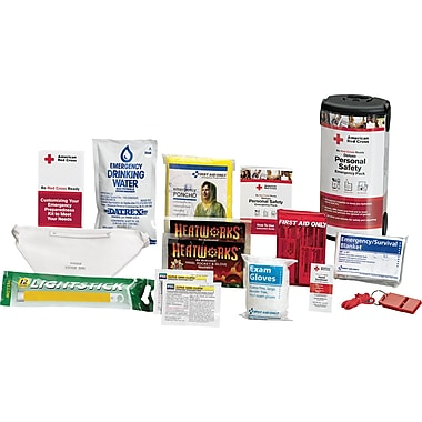 First Aid Only® Deluxe Personal Safety Emergency Pack