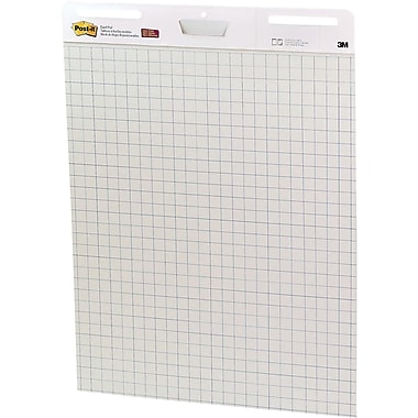Post-it® Super Sticky 25in. x 30in. Easel Pads, White, 2/Pack