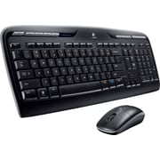 Logitech MK320 Full-Size Wireless Multimedia Keyboard and Optical Mouse Combo (920002836)