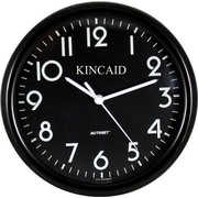 "Kincaid® 10"" Round Wall Clock, Black"