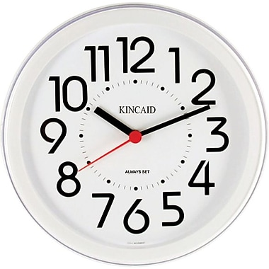 Kincaid® 8.5in. Round Wall Clock, White