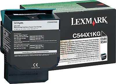 Lexmark Black Toner Cartridge C544X1KG Extra High Yield Return Program