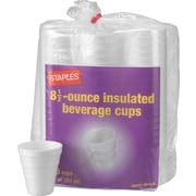 Staples® Foam Hot/Cold Cups, 8.5 oz., 153/Pack